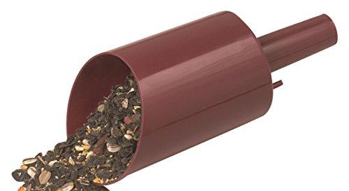 Scoop Heath graines pour oiseaux et Entonnoir Marron - FS-1