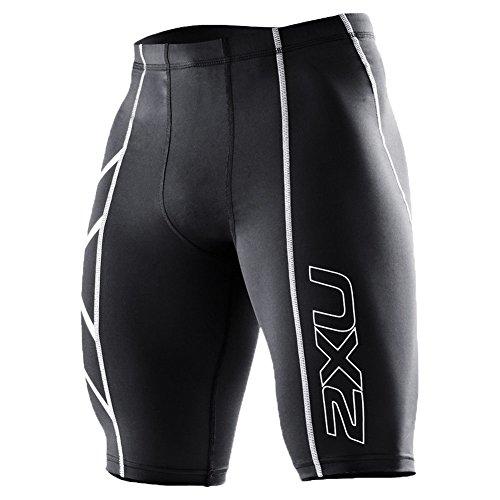 2XU Herren Kompressionshose Mens Compression Shorts, blk/blk, XS, MA1931b