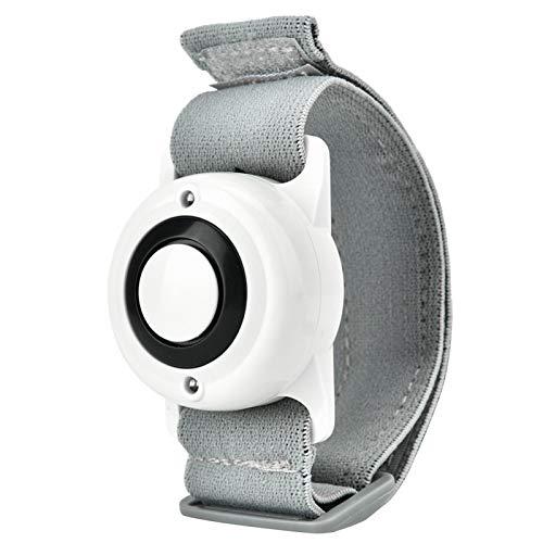 Alarme personnelle Siren Watch - 130dB Safesound Alarmes personnelles pour Femmes, autodéfense d'Urgence pour Enfants, Personnes âgées.Sécurité Safe Sound Rape Whistle Siren(Blanc)