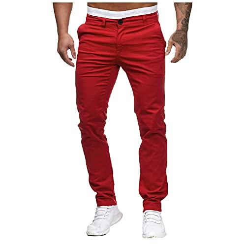 Binggong Pantalones cargo para hombre, informales, elásticos, largos, de corte regular, para el tiempo libre, para correr, para el trabajo, para el aire libre