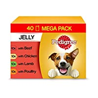 100% Complete and delicious wet dog food for adult dogs Easy-to-open pouches, perfect for a fresh healthy meal, on its own or on top of dry dog food Dog food developed with our vets and nutritionists at Waltham Pet Nutrition Centre This pet food cont...