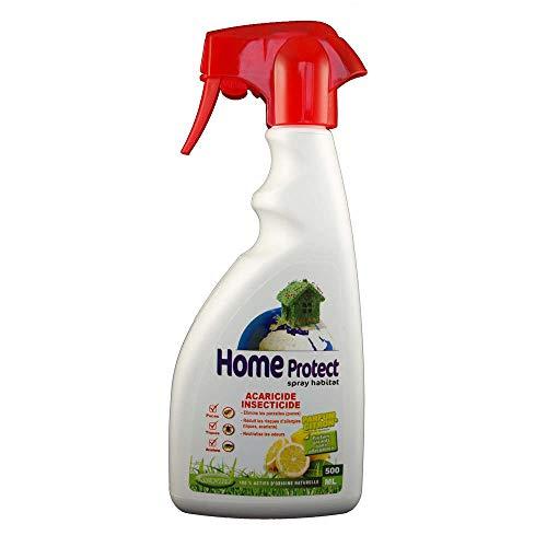 Home Protect - Produit Naturel - Spray antiparasitaire habitat - Home Protect (Citron - 500ml)