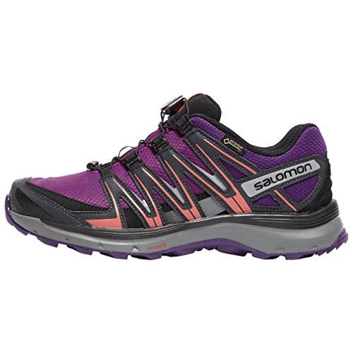 Salomon XA lite GTX W, Zapatillas de Trail Running para Mujer, Violeta (Grape Juice/Acai/Phantom), 38 EU