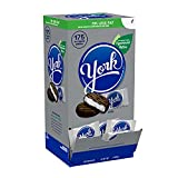 YORK Peppermint Patties Dark Chocolate Candy, Individually Wrapped, 84 oz Box (175 Pieces)