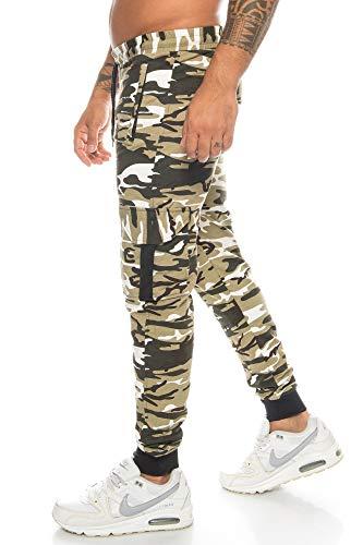 Crazy Age Pantalon de sport cargo pour homme - Pantalon de...