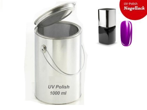 UV Polish esmalte uñas/Gel polish 1000ml-06Neon-Violet