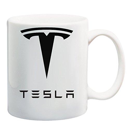 Cars Tesla Logo T-Shirt Mug