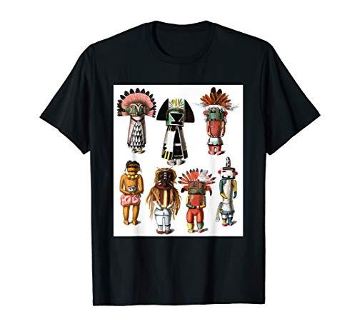 Kachina Dolls - Hopi Katsina Native American Mythology T-Shirt
