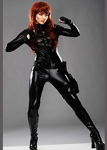 MAGICBOX Costume da Donna in Stile vedova Nera XS (UK6-8)