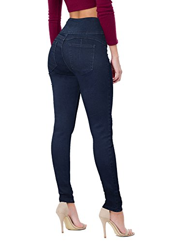 Women's Butt Lift V3 Super Comfy Stretch Denim Jeans P45070SKX Dark WASH 24