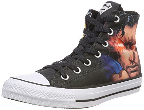 Converse Unisex-Erwachsene CTAS HI Hohe Sneaker, Mehrfarbig (Black/White/Black 001), 46 EU