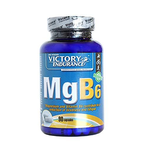 VICTORY ENDURANCE magnesio y vitamina B6 envase 90 cápsulas