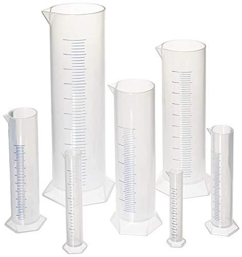 hand2mind Graduated Measuring Cylinders, Set of 7