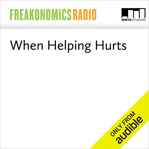 When Helping Hurts audiobook cover art