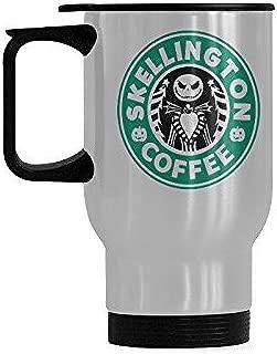 Durable Skellington Coffee Mug - 100% Stainless Steel Material Travel Mugs - 14oz sizes