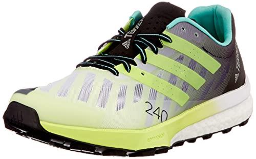 adidas Terrex Speed Ultra, Zapatillas de Trail Running, FTWBLA/Amasol/Plamat, 38 2/3 EU