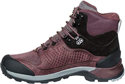 VAUDE Women's TRK Skarvan Mid STX, Chaussures de Randonnée Hautes Femme, Rouge (Raisin), 37.5 EU