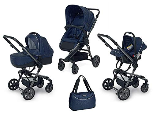 Foppapedretti 9700337233 Trio UP3 Travel System Briliant Blue