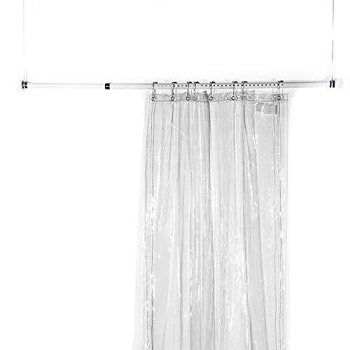 GXING Balkon Vorhang Tuch, Wind Vorhang Balkon Plane transparenten Poncho wasserdicht Regen Tuch PVC-Verdickung (größe : 3 * 2.8m)
