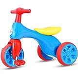 COSTWAY Mini Laufrad Laufdreirad Lauflernrad Rutscherfahrzeug Kleinkind Baby Balance Bikes Spielzeug (Blau)