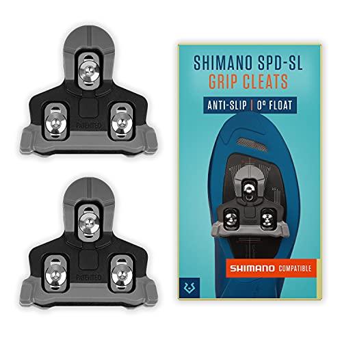 Alphatrail Shimano SPD-SL Carretera Cleats Alfred 0° Float I Puntos de Contacto...
