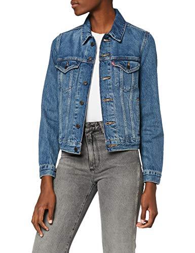 Levi's Original Trucker Giacca in Jeans, Blu (Soft As Butter Dark 0063), Small Donna