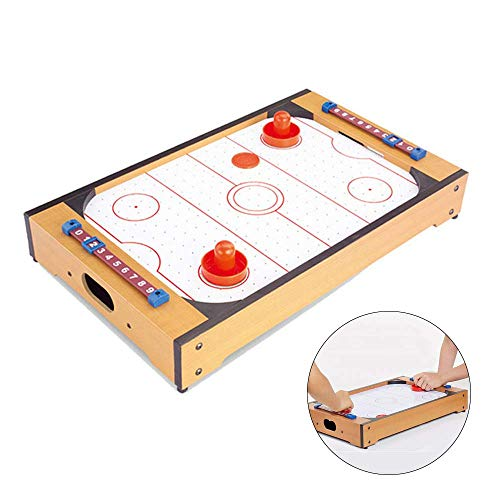 Air Hockey Mini Tabletop Pucks Met Battery Powered Tafels Airhockey Early Education Children's Educational Battle Toys