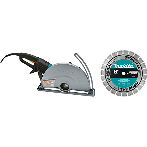 Makita 4114X 14' Electric Angle Cutter, with 14' Diamond Blade
