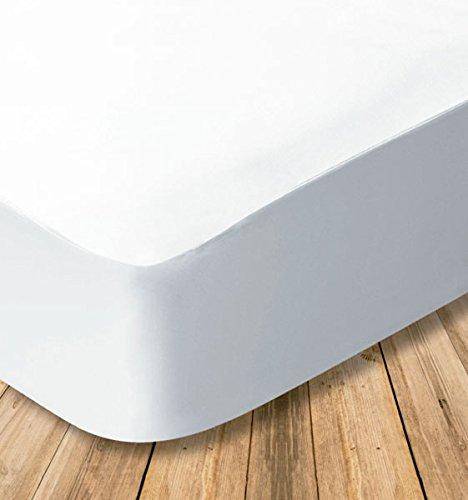 Funda de colchón Microfibra, Transpirable 100% con Cremallera en L (Cama 150--150x190/200cm)