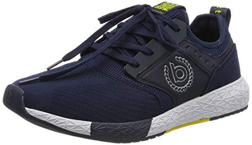 bugatti Herren 342518676900 Slip On Sneaker, Blau, 40 EU