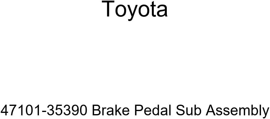 TOYOTA Genuine Save Large-scale sale money 47101-35390 Brake Assembly Sub Pedal