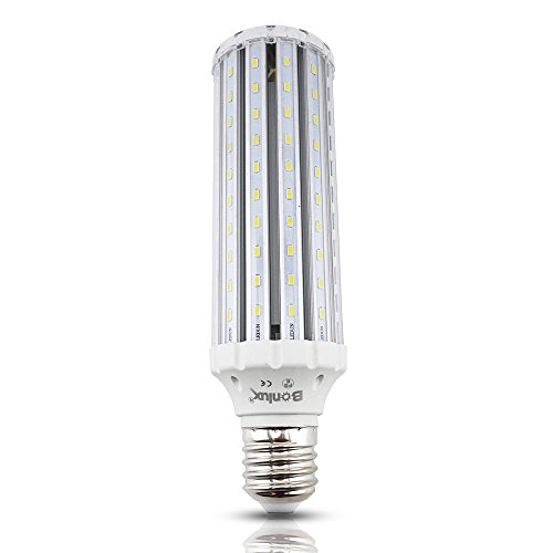 Bonlux LED Corn Bulb Mogul Screw Base E39 E40, 45W AC 85-265V Daylight 6000K, Street and Area Lighting, High Bay Retrofit LED Bulb for Garden Path Garage Factory Warehouse Barn Porch Backyard