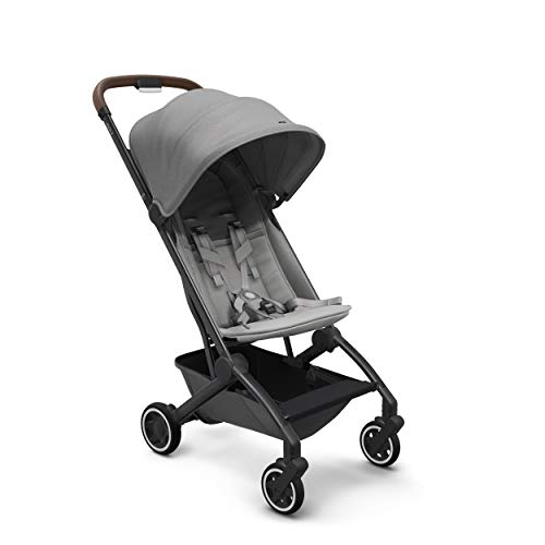 Joolz AER Baby Stroller, Lightweight and Compact for Travel, 6 Months to 50 lbs, Delightful Grey