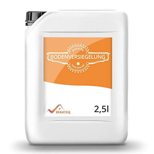 BEKATEQ Bodenversiegelung seidenmatt BK-250V für CV, PVC, Gummi, Linoleum, Epoxidharzboden - 2,5L
