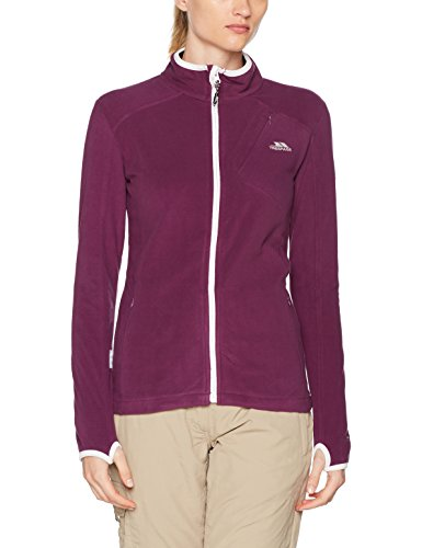 Trespass Saskia, Blackberry, L, Ultraleichtes Microfleece 150g/m² für Damen, Large, Violett / Lila