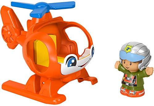Helicopter & Figure set is just right for a toddler Easter basket stuffer