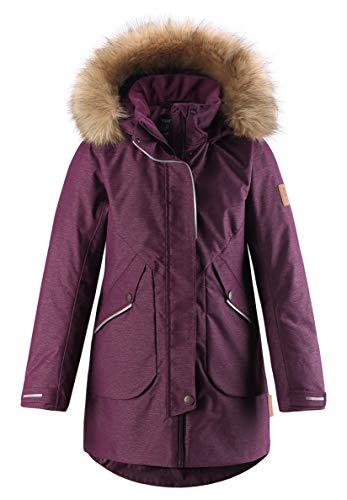 Reima Girls Inari Winter Jacket Lila, Mädchen Isolationsjacke, Größe 116 - Farbe Deep Purple