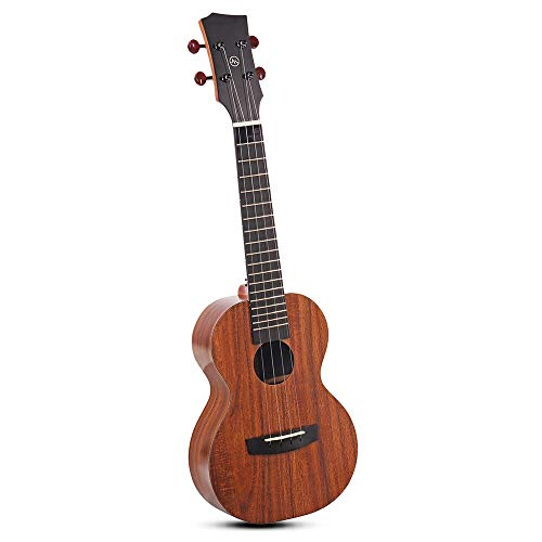 YBWEN Gitaar 23-inch HPL KOA Smart-Ukelele volledige pension met app Intelligent Teaching gitaarcursus voor beginners package concertgitaren