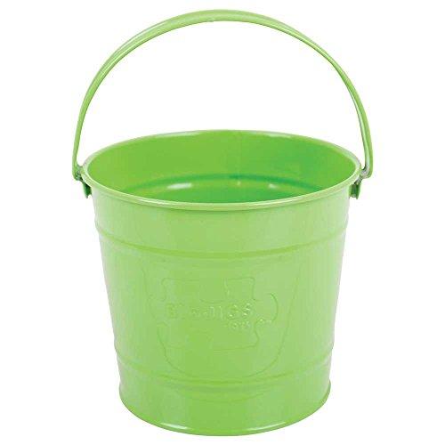 Bigjigs Toys Seau Vert   Jouet Enfant   Jouet de Jardin   Outils de Jardin   Gants de Jardinage   Pelle   Fourche à Bêcher