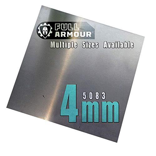 Piastra in alluminio, 4 mm, 5083, 150mm x 150mm, 1