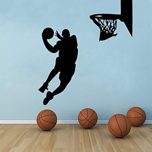 Wandaufkleber für Kinder, Jungen, Baseball, Sport, Wanddekoration, Poster, Vinyl, abnehmbar, 42 x 69 cm, 1, 56X108cm