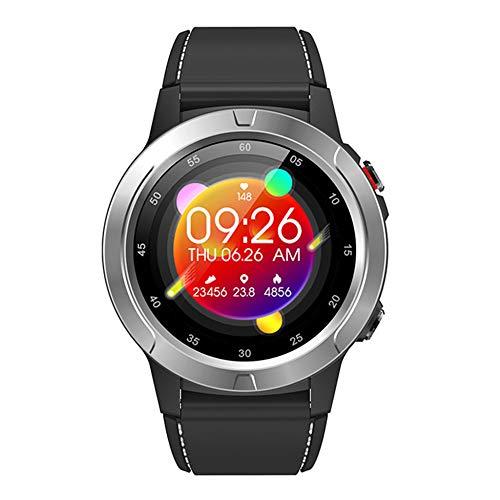 YPSMCYL Reloj Inteligente Bluetooth para Deportes Al Aire Libre con Frecuencia Cardíaca North Edge GPS Podómetro Reloj con Brújula Multifunción Reloj Neutral,Silvergray