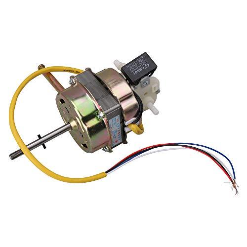 BQLZR Motor de ventilador de cobre de alta potencia de 60 W, núcleo de 2 cm de grosor con eje de 0,8 cm de diámetro
