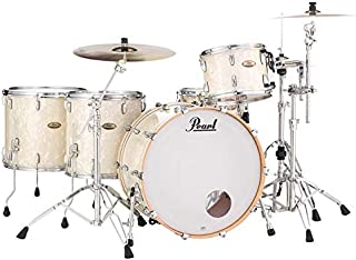 Pearl Session Studio Select 4-Piece Shell Pack - 24 Inches Bass Drum - Nicotine White Marine Pearl