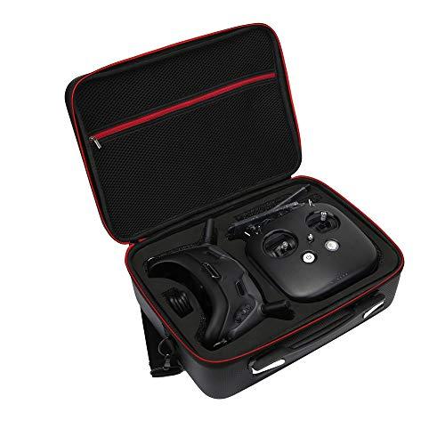 HSKB Portable Tasche Handtasche Handheld Hard Bag Wasserdichter Outdoor Carry on Storage Bag für DJI Digital FPV System FPV Goggles Combo mit Fernbedienung