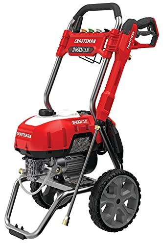 CRAFTSMAN CMEPW2400 2,400 MAX PSI Electric Cold Water Pressure Washer