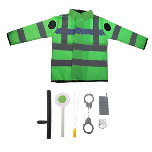 dailymall Disfraz Infantil Disfraz Juego de Simulación Juegos de Policía Juguetes Educativos