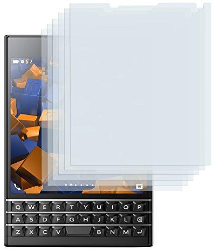 mumbi Schutzfolie kompatibel mit Blackberry Passport Folie klar, Bildschirmschutzfolie (6x)