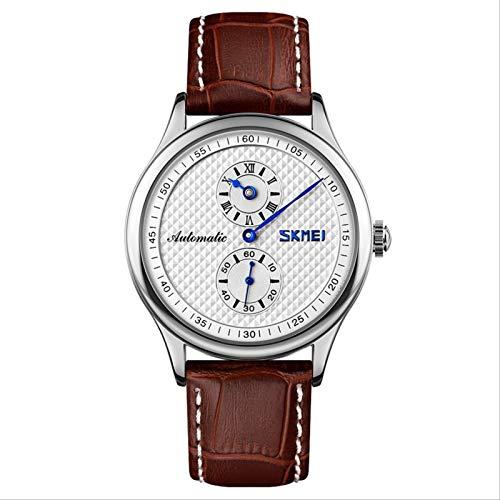 Miwaimao Reloj Conceptual Sin Punteros Hombre Creativo Estudiante Mecánico Hombres Tendencia Reloj De Cuarzo Simple Impermeable Reloj Masculino