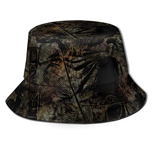 Yuanmeiju Cotton Packable Fishing Hunting Sun Hats Travel Twill Bucket Cap Odin